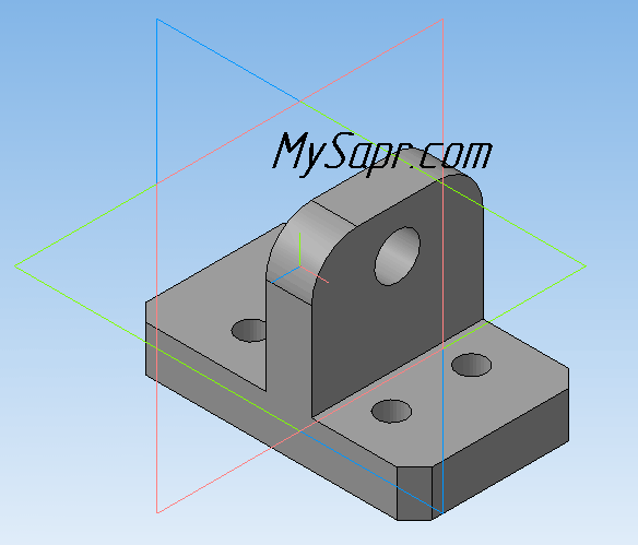 компас 3d детали - фото 2